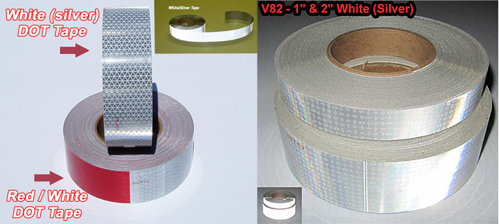 reflexite solid white dot tape